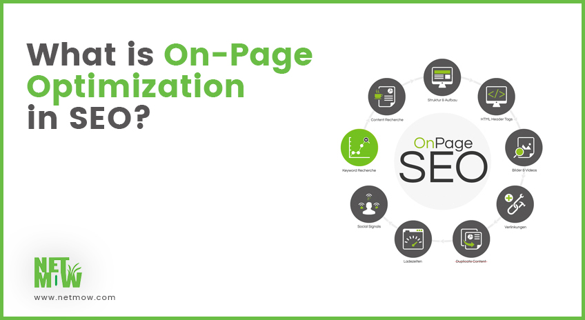 what is onpage optimization in seo